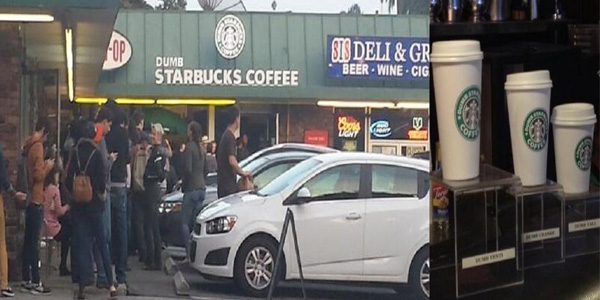 Starbucks Vs Dumb Starbucks