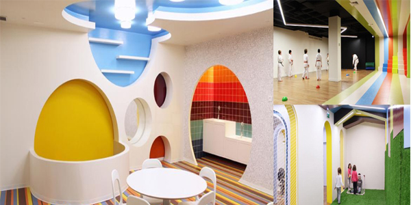 Wajah Baru Kalorias Children Space