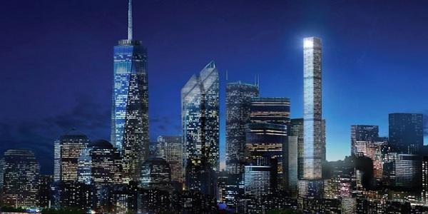 Pencakar Langit Slim Pesaing One World Trade Center
