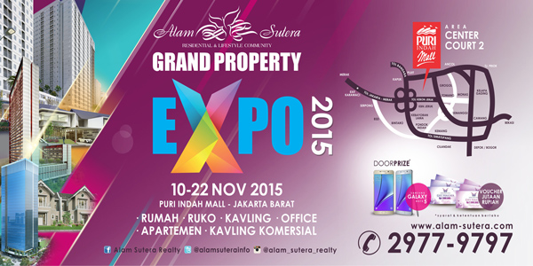 Grand Property EXPO 2015 The 2nd Alam Sutera