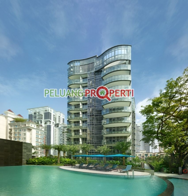 Penthouse Singapore fully furnished daerah bukit timah